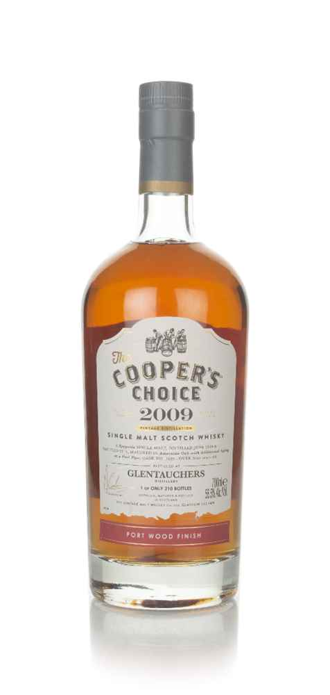 Glentauchers 9 Year Old 2009 (cask 7839) - The Cooper's Choice (The Vintage Malt Whisky Co.)