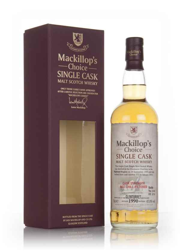 Glenturret 25 Year Old 1990 (cask 572)  - Mackillop's Choice