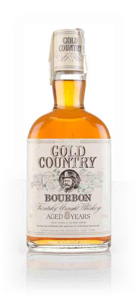 Gold Country 8 Year Old Bourbon - 1990s
