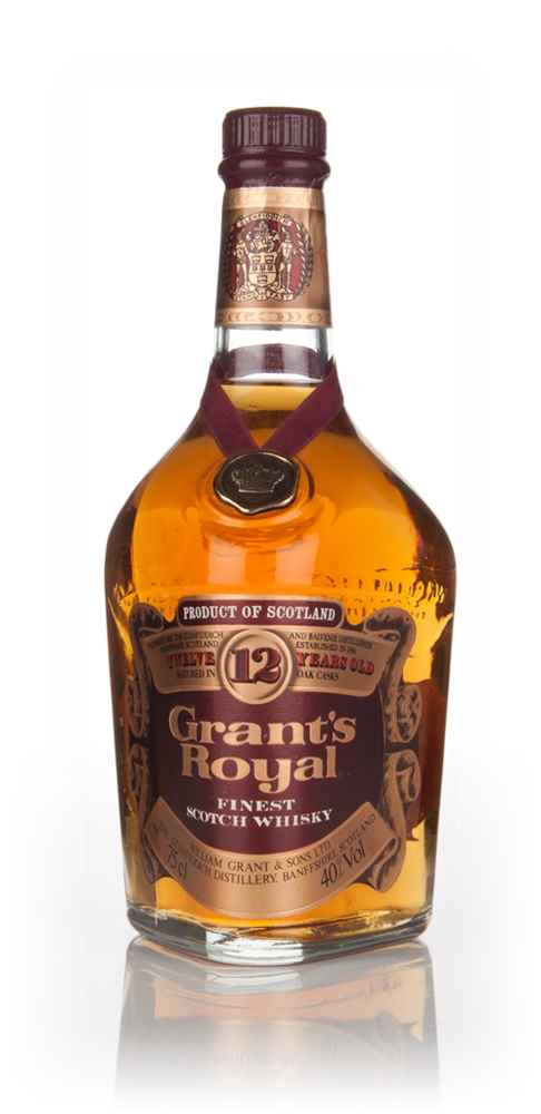 Grant's Royal 12 Year Old - 1970s