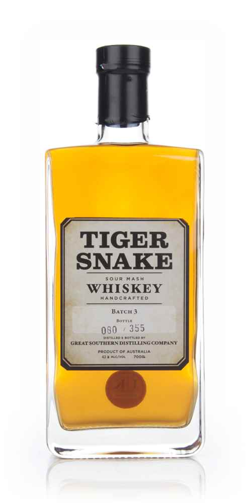 Tiger Snake Sour Mash Whiskey - Batch 3