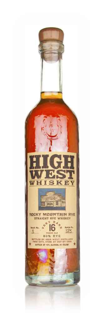 High West Rocky Mountain Rye 16 Year Old