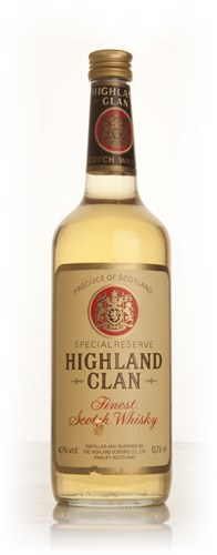 Highland Clan Special Reserve - 1970s