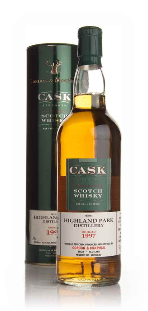 Highland Park 1997 - Cask Strength (Gordon and MacPhail)