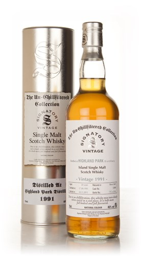 Highland Park 20 Year Old 1991 - Un-Chillfiltered (Signatory)
