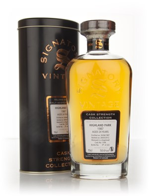 Highland Park 24 Year Old 1987 - Cask Strength Collection (Signatory)
