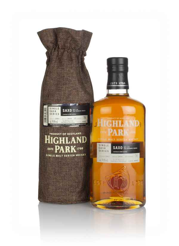 Highland Park 15 Year Old 2003 (cask 4460) - Saxo (The Founders Series)