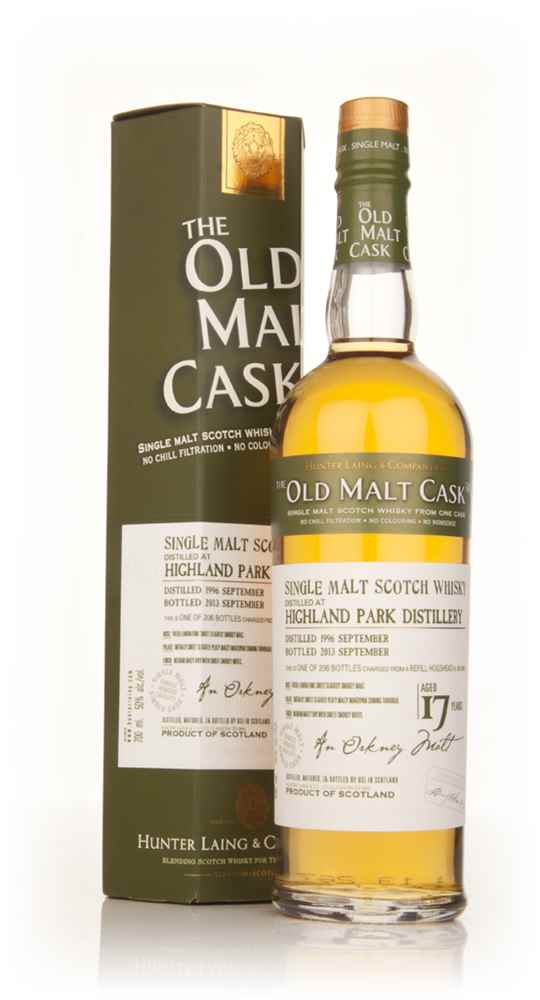 Highland Park 17 Year Old 1996 (cask 9903) - Old Malt Cask (Hunter Laing)