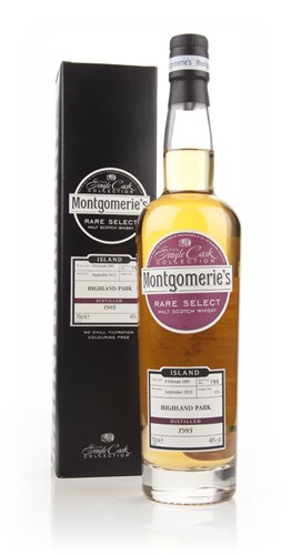 Highland Park 28 Year Old 1985  (cask 375) - Rare Select (Montgomerie's)