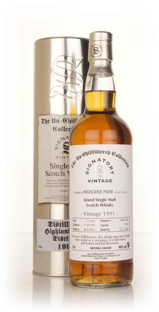 Highland Park 21 Year Old 1991 (cask 15128) - Un-Chillfiltered Collection (Signatory)