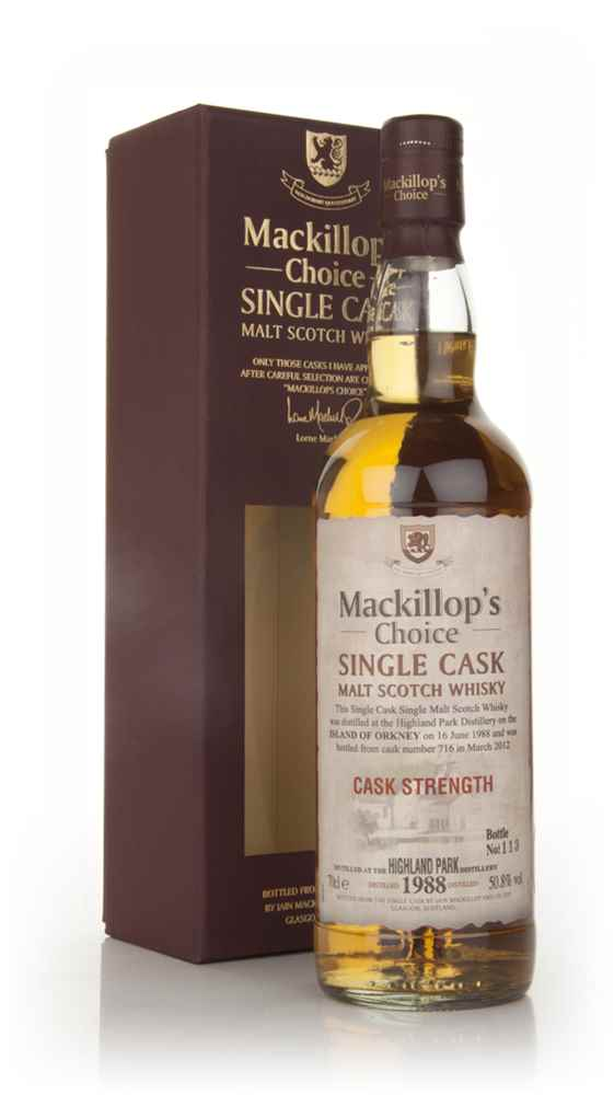 Highland Park 23 Year Old 1988 (cask 716) - Mackillop's Choice