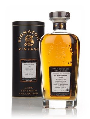Highland Park 23 Year Old 1990 (cask 570) - Cask Strength Collection (Signatory)