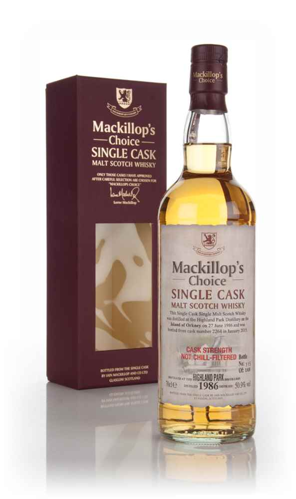 Highland Park 28 Year Old 1986 (cask 2264) - Mackillop's Choice