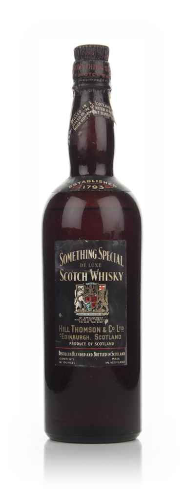 Something Special De Luxe Scotch Whisky - 1936-52