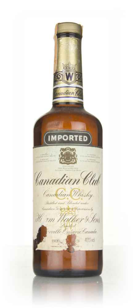 Canadian Club Whisky - 1970s