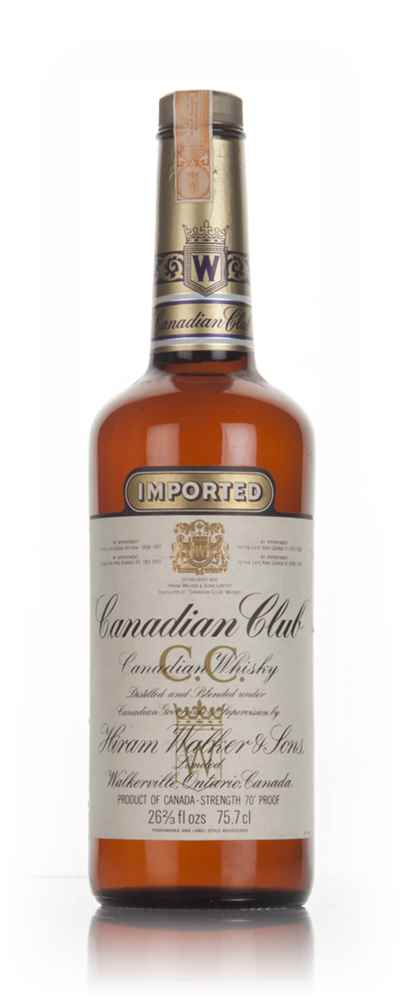 Canadian Club 6 Year Old Whisky - 1970s