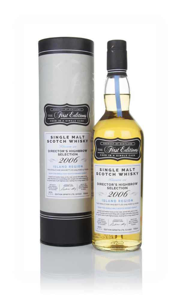 Director's Highbrow Selection 13 Year Old 2006 (cask 16651) - The First Editions (Hunter Laing)