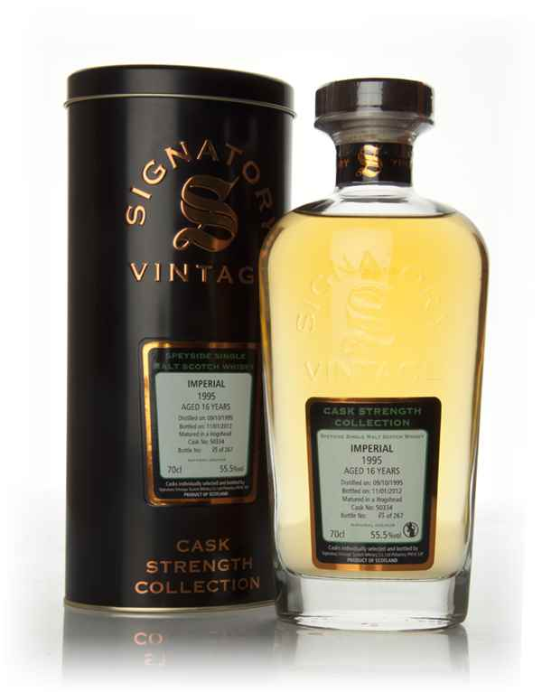 Imperial 16 Year Old 1995 - Cask Strength Collection (Signatory)