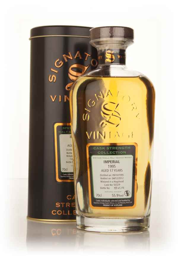 Imperial 17 Year Old 1995 (cask 50329) - Cask Strength Collection (Signatory)
