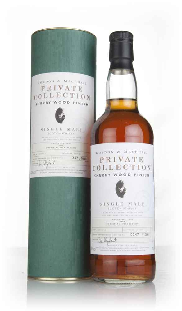 Imperial 1990 (bottled 2001) - Private Collection (Gordon & MacPhail)