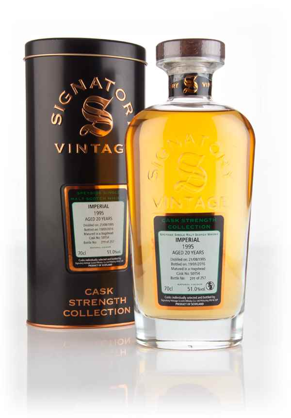 Imperial 20 Year Old 1995 (cask 50154) - Cask Strength Collection (Signatory)