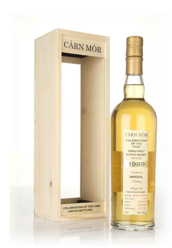 Imperial 28 Year Old 1989 (cask 1675) - Celebration of the Cask (Càrn Mòr)