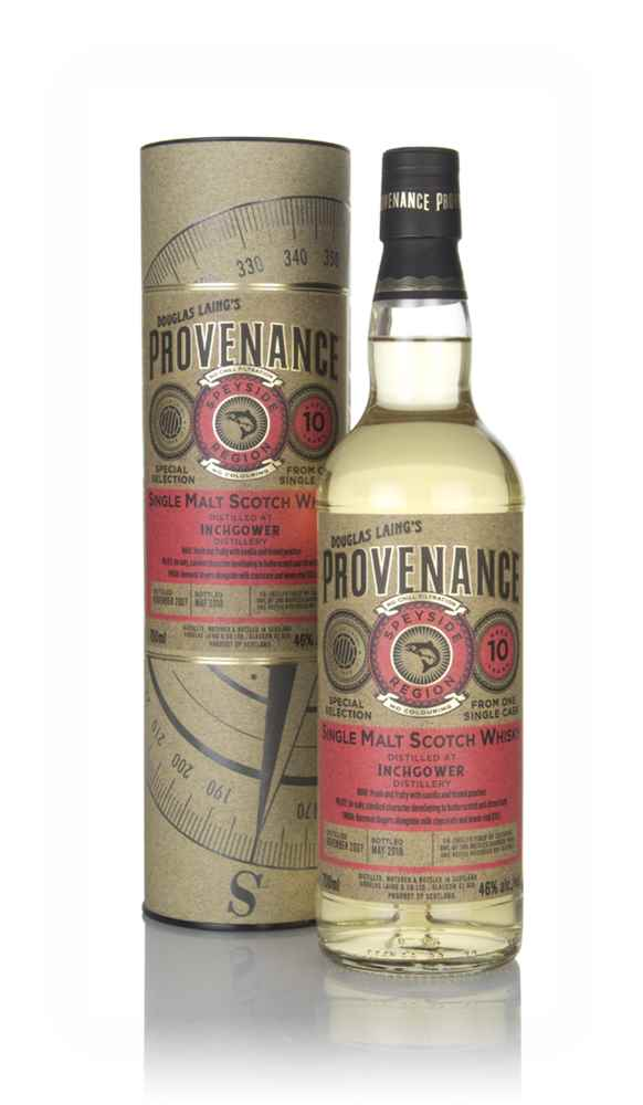 Inchgower 10 Year Old 2007 (cask 12602) - Provenance (Douglas Laing)