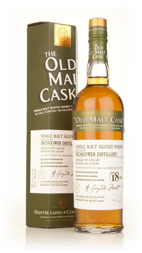 Inchgower 18 Year Old 1995 (cask 9983) - Old Malt Cask (Hunter Laing)