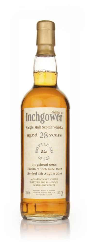 Inchgower 28 Year Old 1982 Cask 6966 (Bladnoch)