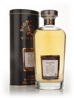 Inchmurrin 18 Year Old 1993 - Cask Strength Collection (Signatory)