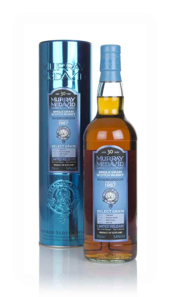 Invergordon 30 Year Old 1987 (cask 903159) - Select Grain (Murray McDavid)