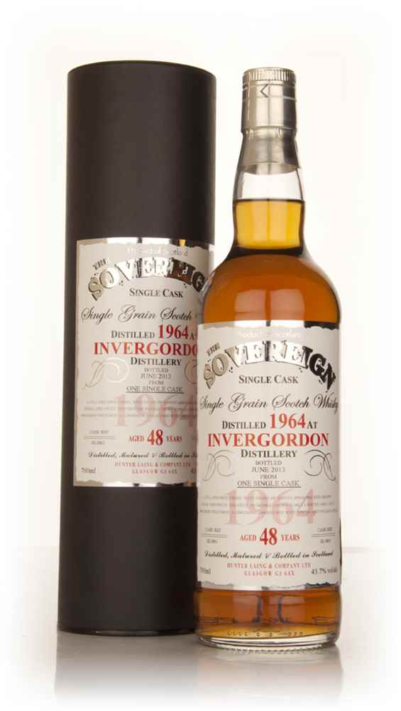 Invergordon 48 Year Old 1964 (cask 9861) - The Sovereign (Hunter Laing)
