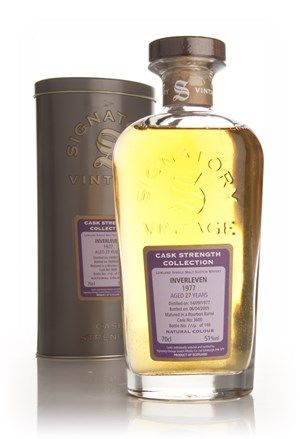 Inverleven 27 Year Old 1977 - Cask Strength Collection (Signatory)