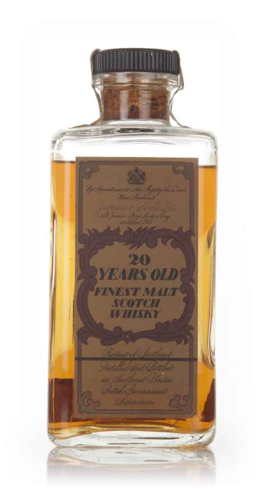 J&B 20 Year Old - 1970s