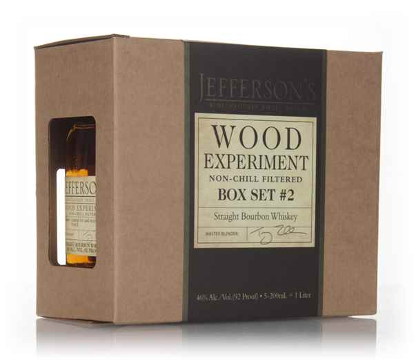 Jefferson's Wood Experiment - Box Set #2