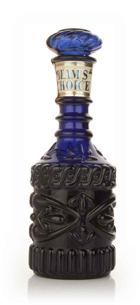 Jim Beam Blue Decanter - 1960s