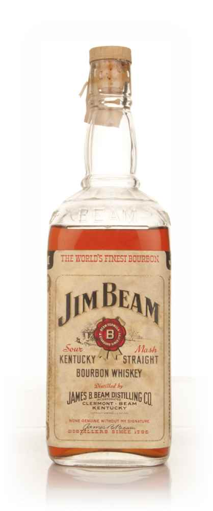Jim Beam White Label - 1959