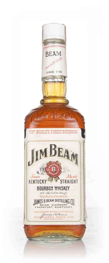 Jim Beam White Label - 1986