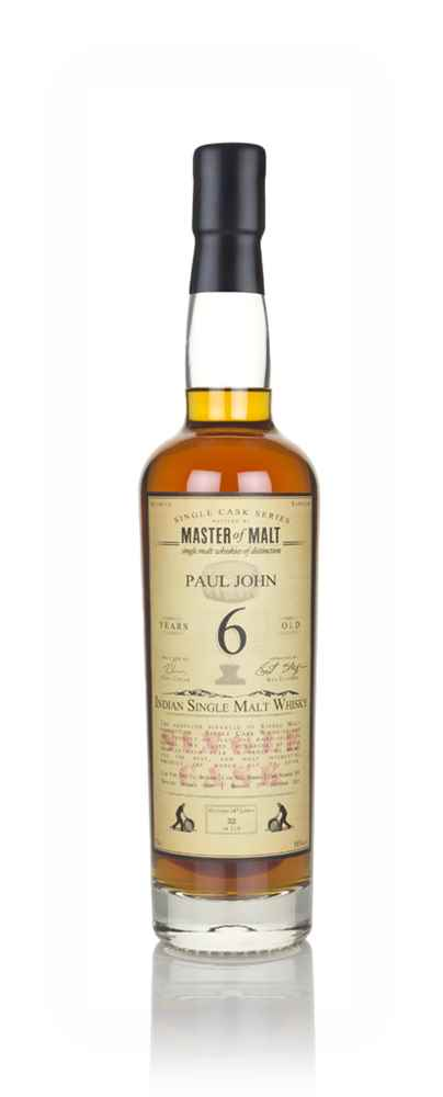 Paul John 6 Year Old 2009 - Single Cask (Master of Malt)