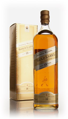 Johnnie Walker Gold Label 18 Year Old 1l