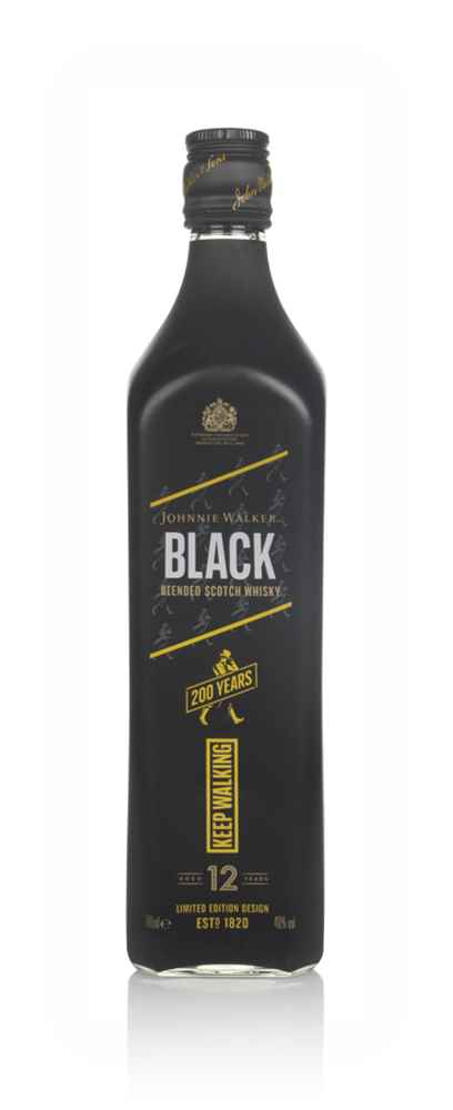 Johnnie Walker Black Label 12 Year Old - 200 Years Limited Edition
