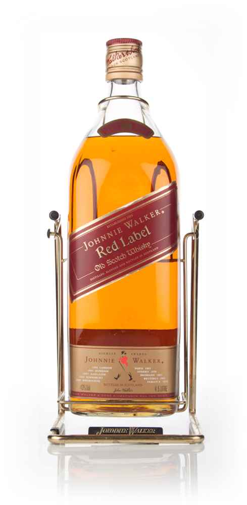 Johnnie Walker Red Label 4.5l - 1970s