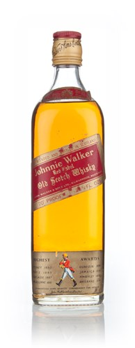 Johnnie Walker Red Label 75cl - 1970s