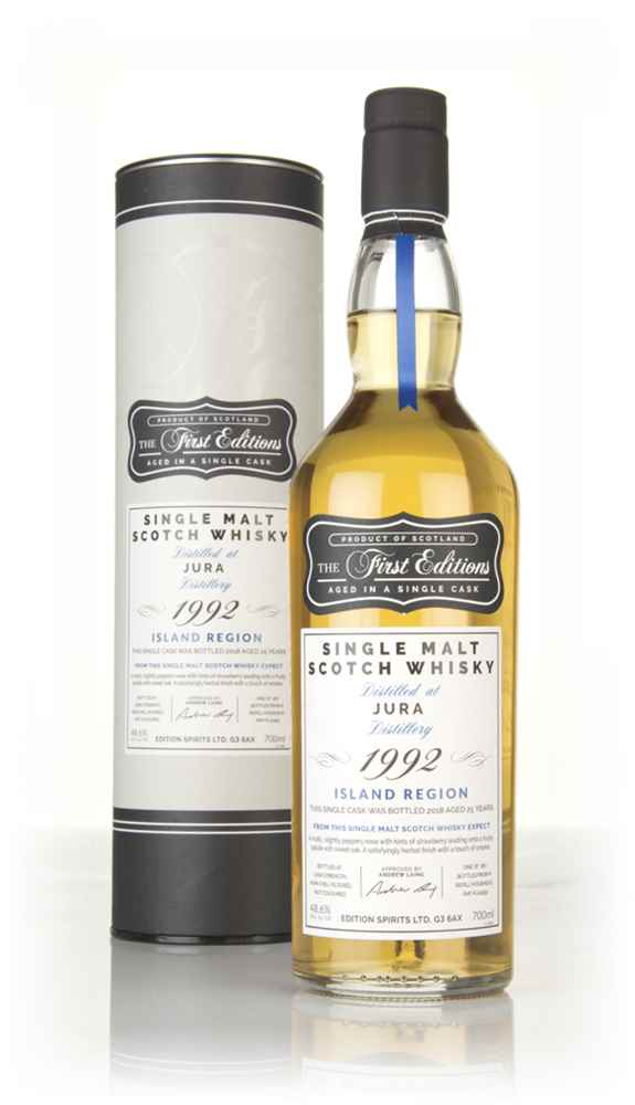 Jura 25 Year Old 1992 (cask 12459) - The First Editions (Hunter Laing)