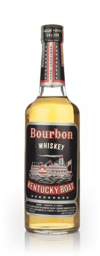 Kentucky Boat Bourbon - 1970s