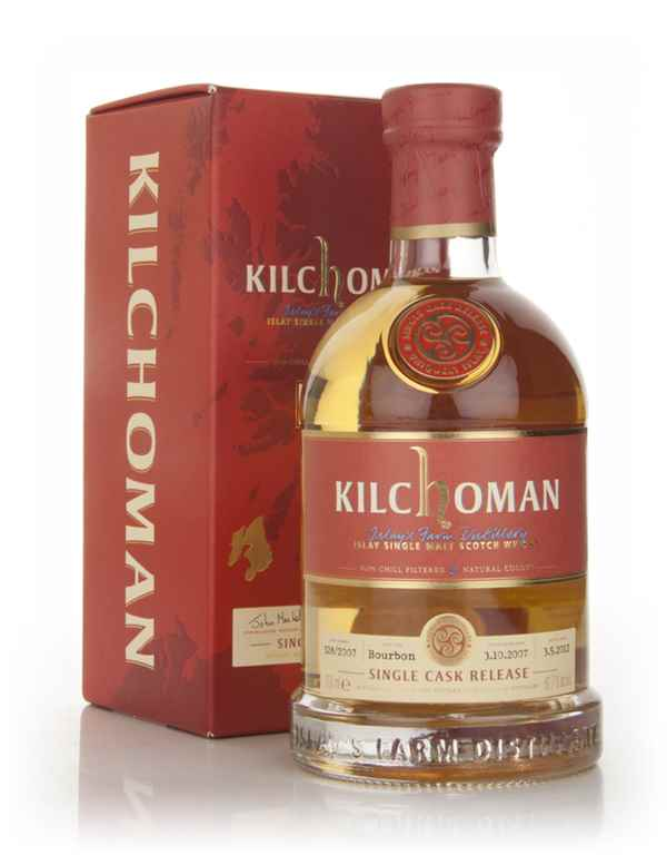 Kilchoman 4 Year Old 2007 - Single Cask Release (328/2007)