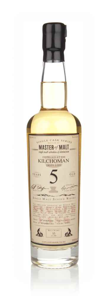Kilchoman 5 Year Old 2008 - Single Cask (Master of Malt)
