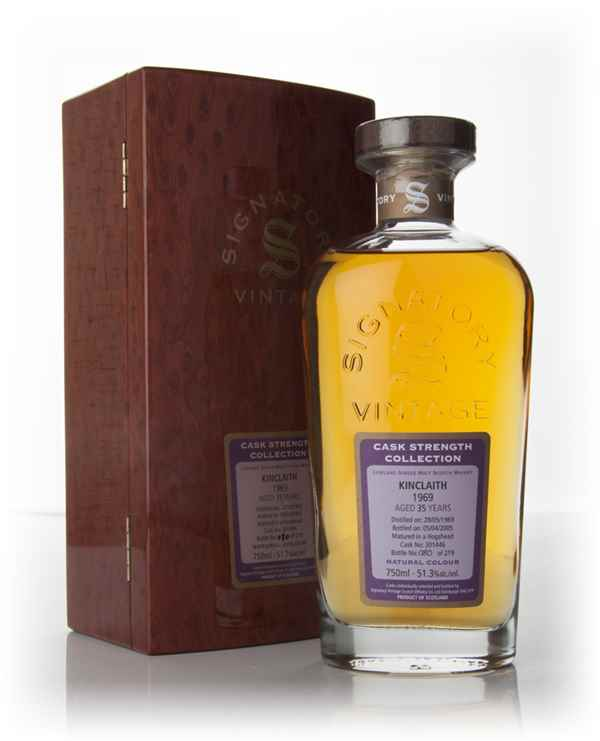 Kinclaith 35 Year Old 1969 (cask 301446) - Rare And Very Old - Cask Strength Collection (Signatory)