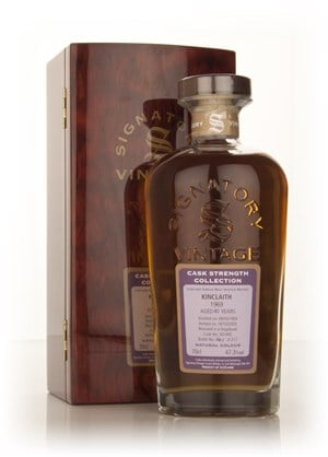 Kinclaith 40 Year Old 1969 (cask 301445) - Cask Strength Collection (Signatory)