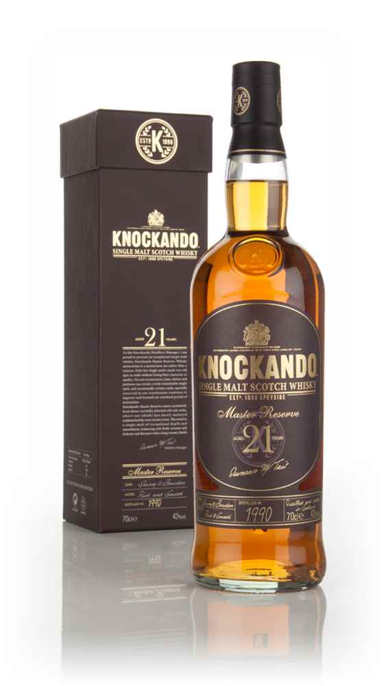 Knockando 21 Year Old 1990 Master Reserve